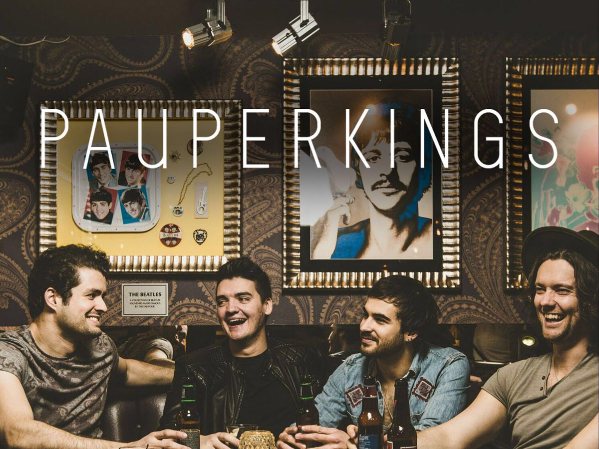 Pauper Kings consists of four best friends from York, England. In just a few years, Pauper Kings have built up an army of fans throughout Europe, Australia and the States… Continue Reading..
